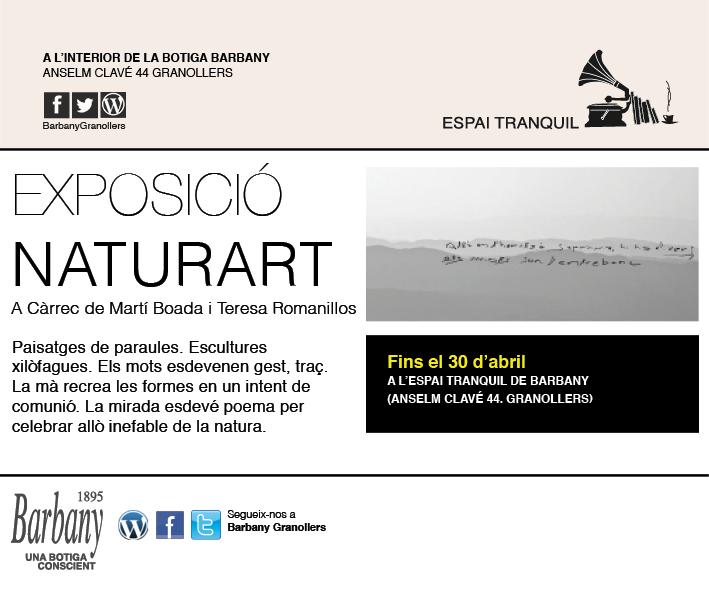 exposicion-Marti-boada-teresa-romanillos-espai-tranquil-tienda-de-ropa-brbany-granollers-moda-actividades-gratis